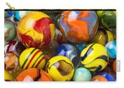 Colorful Glass Marbles Carry-all Pouch
