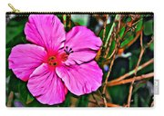 Colorful Hibiscus Carry-all Pouch