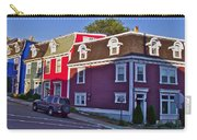 Colorful Homes In Saint John's-nl Carry-all Pouch