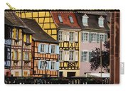 Colorful Homes Of La Petite Venise In Colmar France Carry-all Pouch