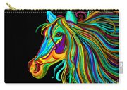 Colorful Horse Head 2 Carry-all Pouch