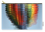 Colorful Hot Air Balloon Ripples Carry-all Pouch