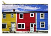 Colorful Houses In St. John's Newfoundland Carry-all Pouch by Elena Elisseeva