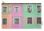 Colorful Houses Carry-all Pouch