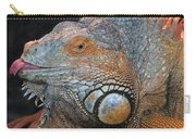 colorful Iguana Carry-all Pouch