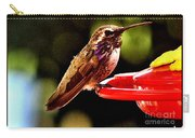 Colorful Juvenile Humingbird Carry-all Pouch