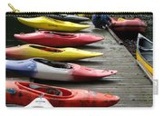 Colorful Kayaks At Whistler Bc Carry-all Pouch