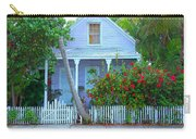 Colorful Key West Cottage Carry-all Pouch