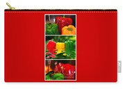 Colorful Kitchen Collage Carry-all Pouch