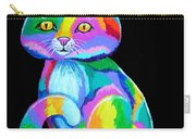 Colorful Kitten Carry-all Pouch