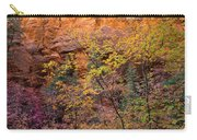 Colorful Leaves On A Tree Carry-all Pouch