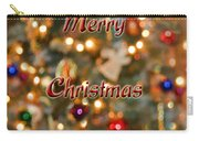 Colorful Lights Christmas Card Carry-all Pouch