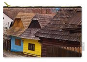 Colorful Log Homes Carry-all Pouch