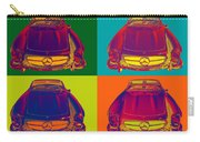 Colorful Mercedes Benz 300 Sl Convertible Popart Carry-all Pouch