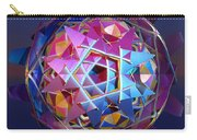 Colorful Metallic Orb Carry-all Pouch