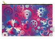 Colorful Metallic Gears Carry-all Pouch by Gaspar Avila