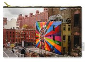 Colorful Mural Chelsea New York City Carry-all Pouch