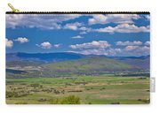 Colorful Nature Od Lika Region Carry-all Pouch
