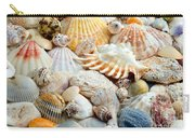 Colorful Ocean Seashells 2 Carry-all Pouch