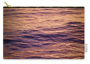 Colorful Ocean Water At Sunset Carry-all Pouch