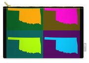 Colorful Oklahoma State Pop Art Map Carry-all Pouch