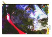 Colorful Old Dog Carry-all Pouch