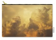 Colorful Orange Yellow Storm Clouds At Sunset  Carry-all Pouch