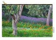 Colorful Park With Flowers Carry-all Pouch