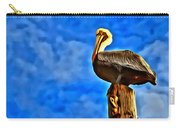 Colorful Pelican Carry-all Pouch