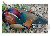 Colorful Plume Carry-all Pouch
