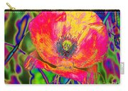 Colorful Poppy Carry-all Pouch