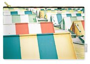 Colorful Roofs Carry-all Pouch
