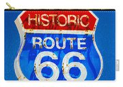 Colorful Route 66 Carry-all Pouch