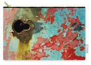 Colorful Rusty Door Carry-all Pouch