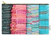 Colorful Scarves Carry-all Pouch