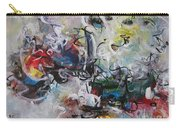 Colorful Seascape Abstract Landscape Carry-all Pouch