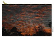 Colorful Sky Number 7 Carry-all Pouch
