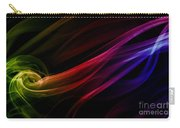Colorful Smoke Composition Carry-all Pouch