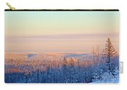 Colorful Snow Valley Carry-all Pouch
