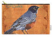 Colorful Songbirds 2 Carry-all Pouch by Debbie DeWitt