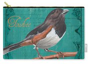 Colorful Songbirds 3 Carry-all Pouch by Debbie DeWitt