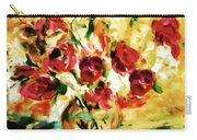 Colorful Spring Bouquet - Abstract  Carry-all Pouch