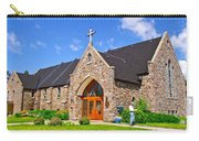 Colorful Stone Catholic Church In North Bay Of Lake Nipissing-on Carry-all Pouch