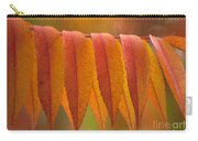 Colorful Sumac Foliage In Fall Carry-all Pouch