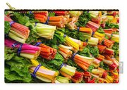 Colorful Swiss Chard Carry-all Pouch