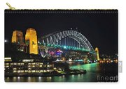 Colorful Sydney Harbour Bridge By Night 3 Carry-all Pouch