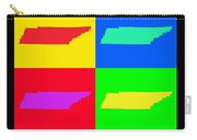 Colorful Tennessee Pop Art Map Carry-all Pouch