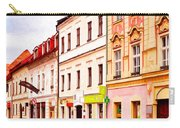 Colorful Town Homes Carry-all Pouch