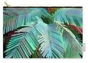 Colorful Tropical Leaves In The Jungle Carry-all Pouch