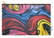 Colorful Urban Street Art From Singapore Carry-all Pouch